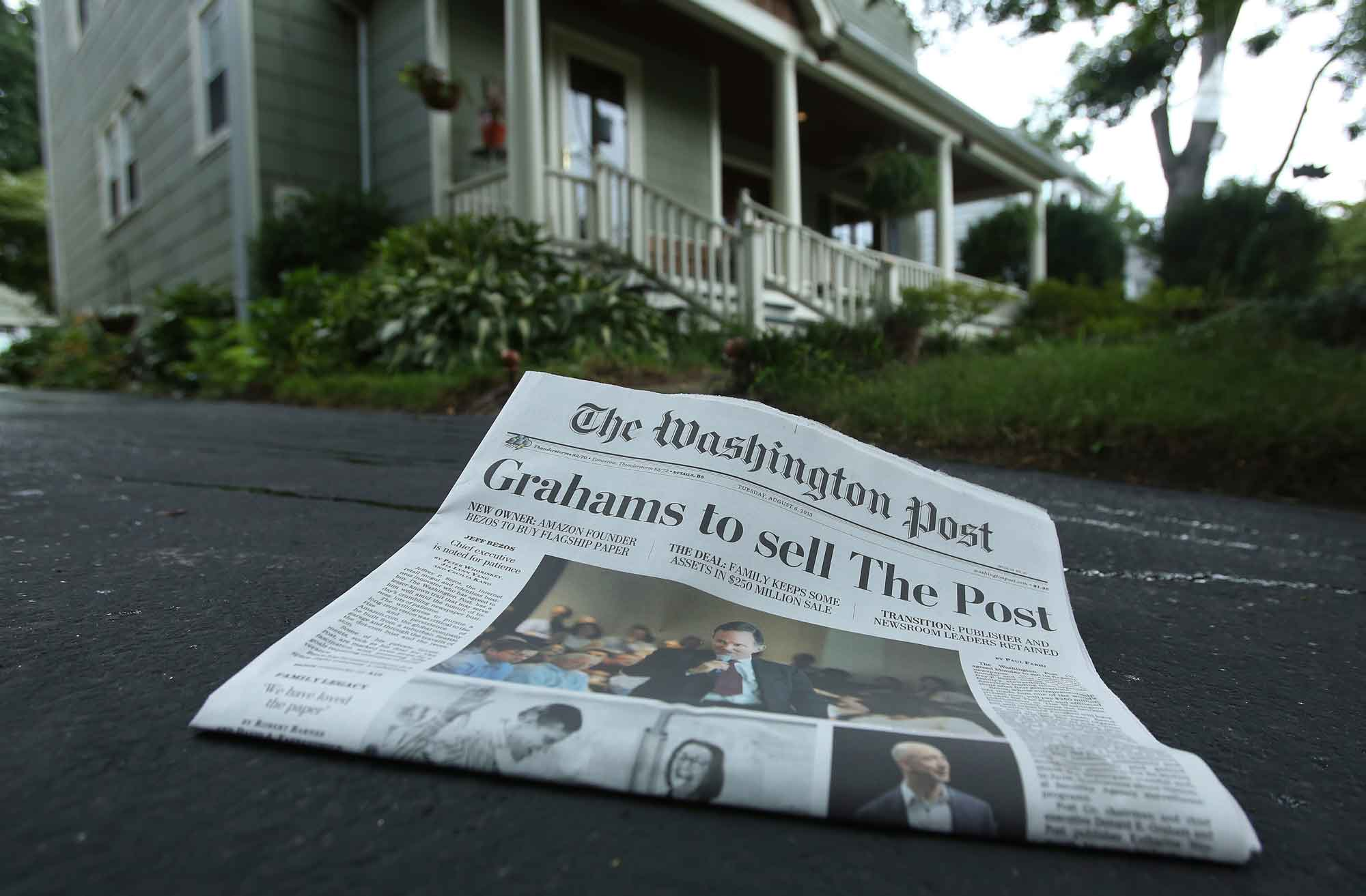 The Bad News About The News Sale Of Washington Post