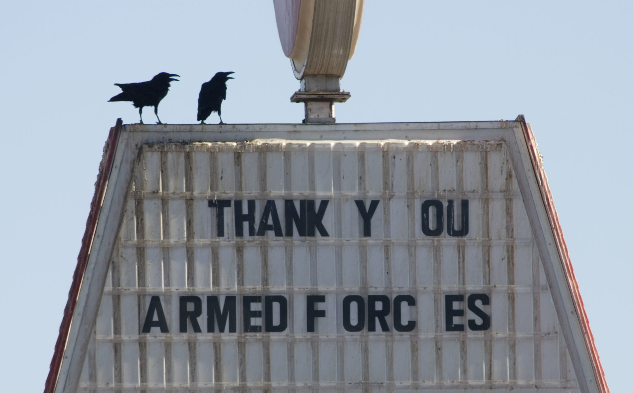 the citizen ier moral risk and the modern military at a truck stop in california a sign signals support for u s forces in the war 2006getty