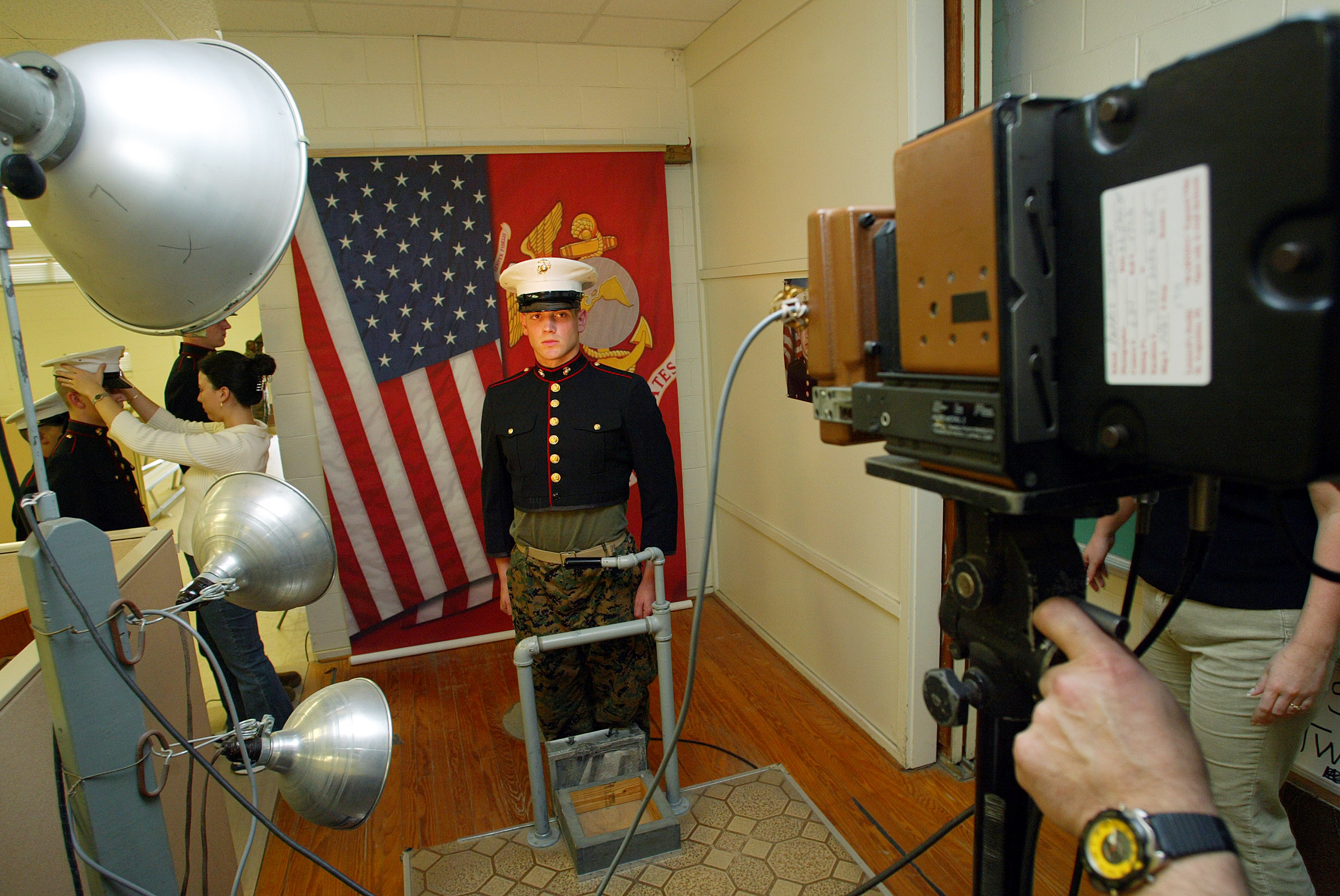 the citizen ier moral risk and the modern military reuters a marine corps recruit poses for his file photo at parris island south carolina 6 2005 reuters